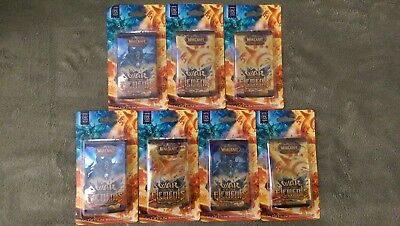 WoW TCG War of the Elements Blister Pack Booster x7 - World of Warcraft Sealed