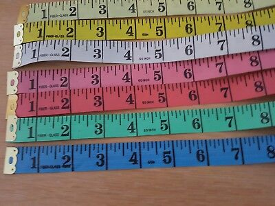 """1pc 60 inch 60"""" soft tape measures tailor seamstress dressmaking sewing"""