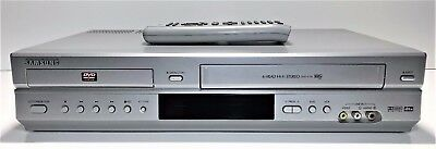 Samsung Dvd/vhs Combo Player | Dvd-V70 | 6 Head Stereo, Dual Deck | With Remote