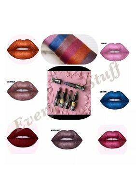 Lime Crime  👄 Perlees 💄 Metallic Lipsticks 👄 💄