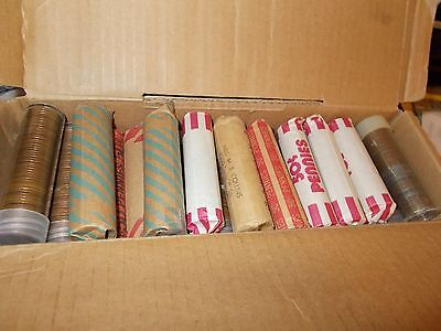 jefferson nickels 40 ct roll 1938-1958 guarenteed unsearched