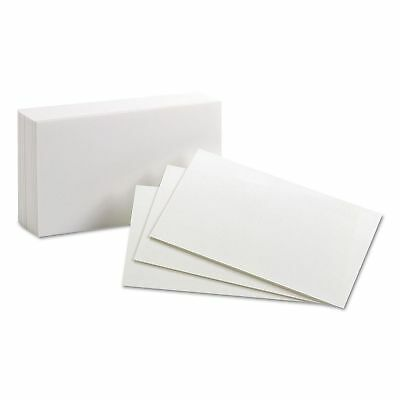 "Oxford Index Cards Unruled 3 x 5""  100 Cards"