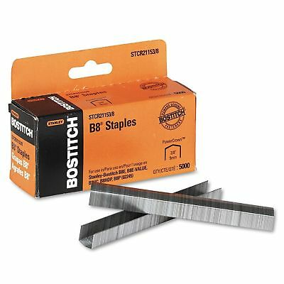 Stanley Bostitch  B8 Powercrown Staples 3/8 Inch Leg Length 5000 Pack New