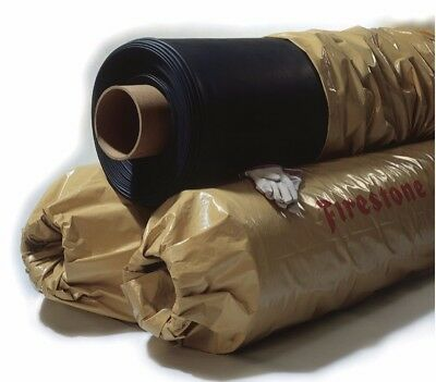 Firestone RubberGard 45 mil EPDM Roofing Rubber Liner - 30' x 10' wide