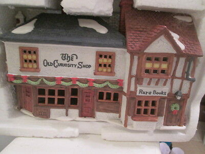 Dept 56 Dickens Village *the Old Curiosity Shop* 59056 Retired Book Shop Store