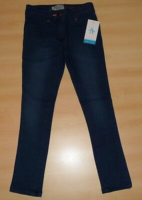 New Genuine Penguin Girls Skinny Jeans Light Wash 2-3, 3-4, 4-5, 5-6, 6-7 Years