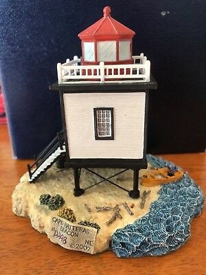 Hatteras Beacon Harbour LIghts Society Exclusive- New in Box w COA & Pin