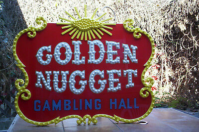 Golden Nugget Las Vegas Casino sign must see!!!!!!!