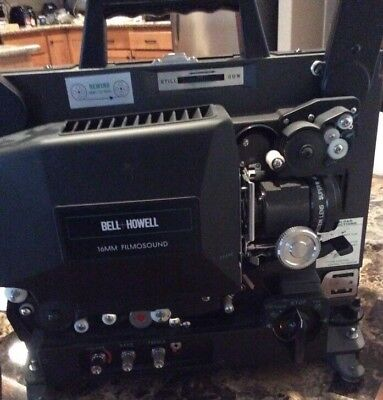 Bell And Howell Eiki  Slim Line 16mm #3585 Film Sound Projector Vintage