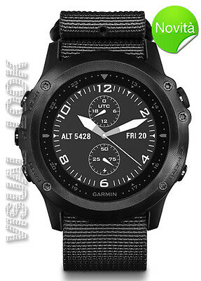 Orologio Garmin Tactix Bravo 010-01338-0B Gps Military-Trail-Run-Marine-Aviator