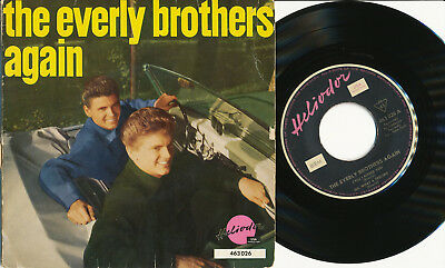 """The Everly Brothers EP deutsche Heliodor 46 3026 """"The Everly Brothers Again"""""""