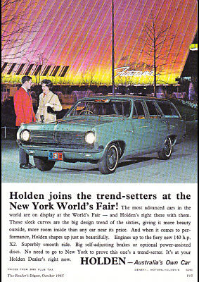 """1965 HD HOLDEN PREMIER STATION WAGON A1 CANVAS PRINT POSTER FRAMED 33.1""""x23.4"""""""