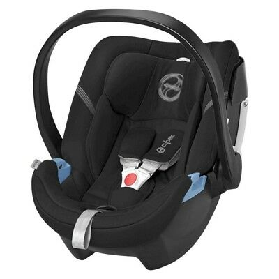 BRAND NEW NEVER USED Cybex Gold Aton 2 Infant Car Seat & Load Leg Base, Black