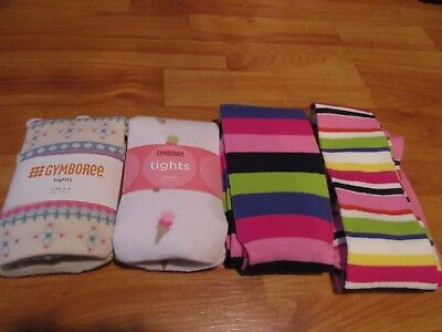 Gymboree Girls Tights Size 3-4 5-7 8-10 New You Pick