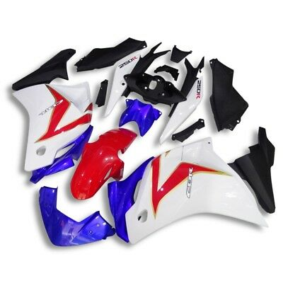 Injection Body Kit Bodywork Fairing for Honda CBR250R 08 2009 2010 2011 2012 AD