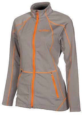 KLIM Women's Ladies Sundance Mid-Layer Casual Jacket -Gray -  Large - NEW