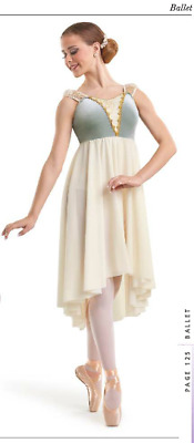 """Gleam Of Light"" Long Ballet Dance Dress Costume Juliet Clara Princess ASM & AME"