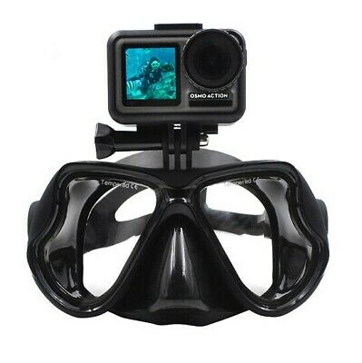 CamGo Diving Mask for GoPro - Scuba Dive - Swimming - Diving - Sold From Aus