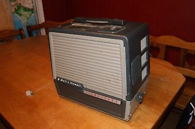 Bell & Howell Filmosound 302 Film Projector W/ Extra Light Arms Included Working