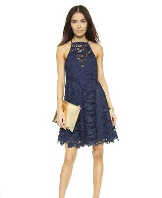 31d0e674be8 Keepsake The Label Dress: Acoustic Lace Dress- Navy, Size Large. Brand New