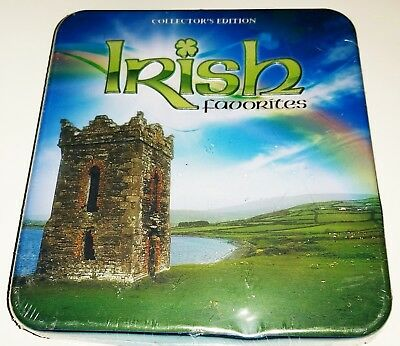 Irish Favorites Collector's Edition Cd Set Dublin Ramblers New Sealed Tin Box