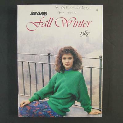 Vintage 1987 Sears Roebuck Fall and Winter Catalog Cheryl Tiegs