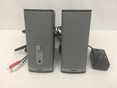 Bose Companion 2 Series II Multimedia Speaker System Complete And Mint