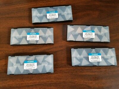 TNG 544 C2 Tracker *UNCOATED* Solid Carbide Inserts /5pks of 10pcs (LOT OF 50)