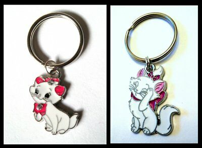 """Marie CAT"" Key Chain (from ""Aristocats"" movie) 2 STYLES - US Seller FREE SHIP"