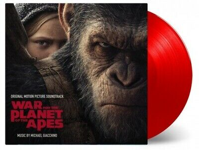 War For The Planet Of Apes MOV ltd #d 180gm RED vinyl 2 LP g/f NEW/SEALED