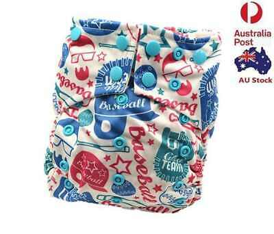 Waterproof Pocket Baby Cloth Nappy Diaper Double Gusset Design for Summer 113002