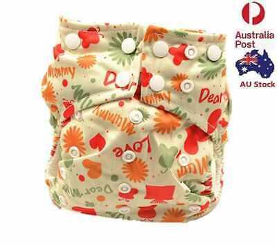 Pocket Nappy Baby Girl Girly Summer Cloth Nappies Diapers Double Gussets 113006