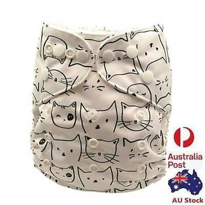 New Unisex Baby Pocket Nappies Baby Cloth Nappy Diapers Double Gussets 113008