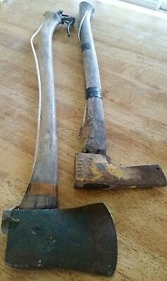 Price Drop - Two Vintage Tordon Chemical Delivery Axes Axe - New Photos Added