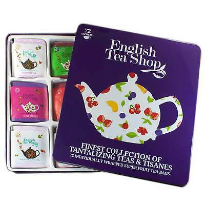 "English Tea Shop - Tee-Geschenkbox aus Metall  mit 72 BIO Tees ""Super Fruit"""