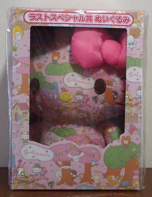 Sanrio Characters lottery wrapping paper last Special Hello Kitty stuffed JAPAN