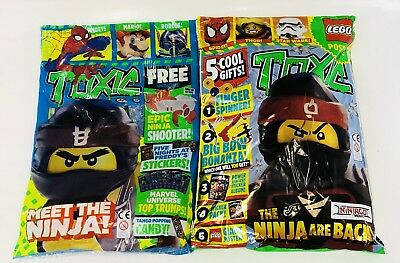 Toxic Magazine X2 Gift Issues #95 & #96 Amazing Free Gifts! (New)