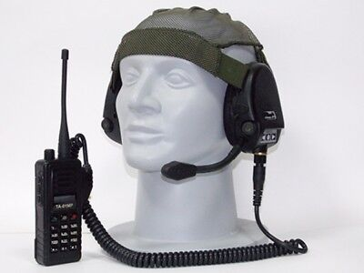 Russian army active headphones 6m2-1 with MICROPHONE included in Ratnik kit