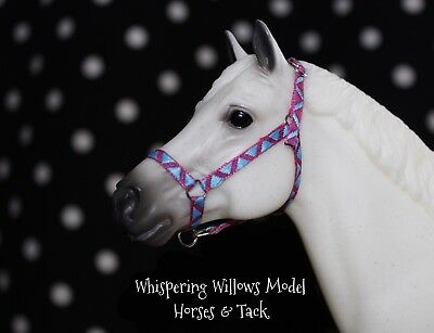 Traditional Scale Grosgrain Model Horse Halter