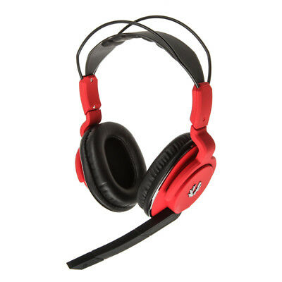 BitFenix Flo Gaming Headset, SofTouch - rot