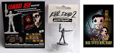 EVIL DEAD 2 - Ash Spielfigur Board Game Brettspiel Table Top + Artprint NEU