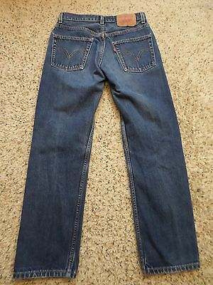 Vintage Levi's 505 Jeans~30 x 30~Measured 29 x 29 1/4~Canada~Broken In