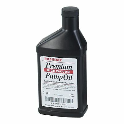 ROBINAIR Premium Vacuum Pump oil 475ml
