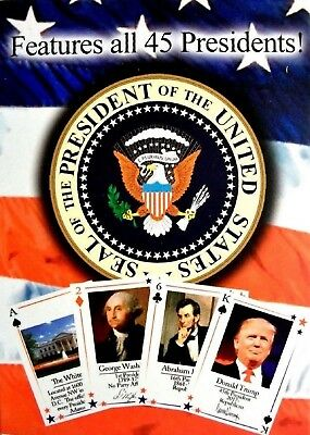 The Presidents of the United States Souvenir Playing Cards