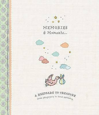 Baby Record Book Memories Moments in Hardcover Baby Shower Gift 9781472376664