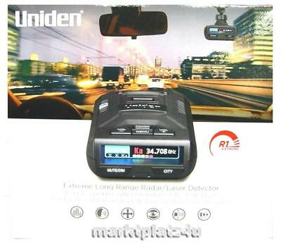 Uniden R1 Extreme Radar Laser Detector International Ship Gps App Eu Us Ca Au Ru