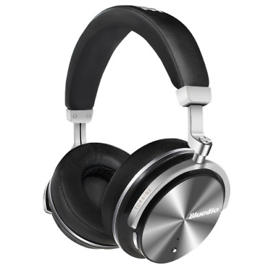 Bluedio T4S Turbine Active Noise Cancelling Over-ear Swiveling Bluetooth Headset