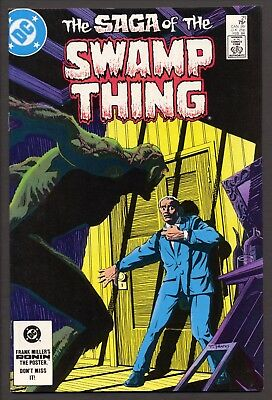 Saga Of The Swamp Thing #21 (1984)~New Origin~1st Alan Moore on title~VF