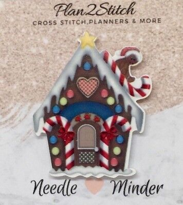 Candy House Needle Minder For Cross Stitch/ Embroidery