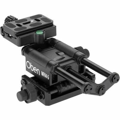 New Oben MFR45 Macro Focusing Rail Other Tripods Supports Cameras Photo